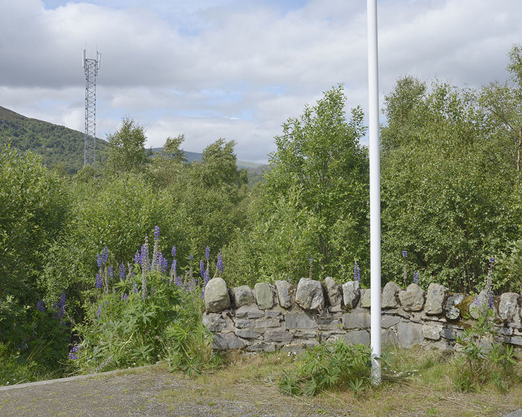 Ralia Highland Gateway Centre, Newtonmore (NN 69942 96809) looking N.