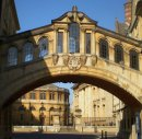 Order No 022: The Bridge of Sighs taken from New College Lane, looking back towards the Sheldonian Theatre, Broad St, Oxford