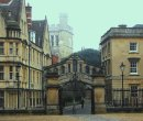 Order No 039: The Bridge of Sighs, Oxford, with the tower of New College chapel in the background.