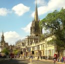 Order No 062: The High Street, Oxford, looking west towards All Souls, Brasenose, St Mary's Church and Lincoln College Library (formerly All Saints' Church)