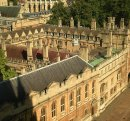 161 Brasenose College from St Mary's Tower, High Street, Oxford