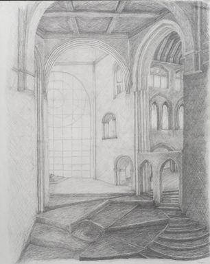 'St Bartholomew Church, a Study '