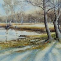Burway Walk, Snow II
