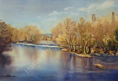 Dinham Weir, Autumn S