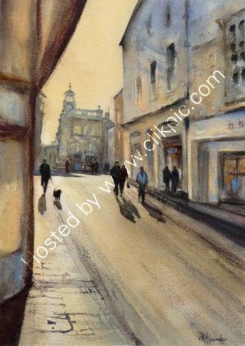 King Street, Late Sun