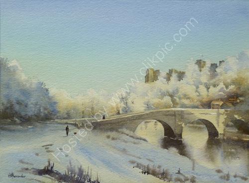 Ludlow Castle, Frost S