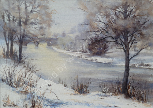 Ludlow's River, More Snow on the Way S