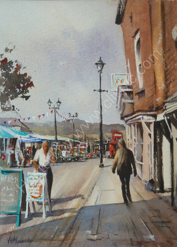 Market Day, Ludlow