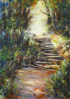The Breadwalk Steps Acrylic