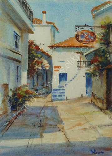 The Blue Door, Skiathos