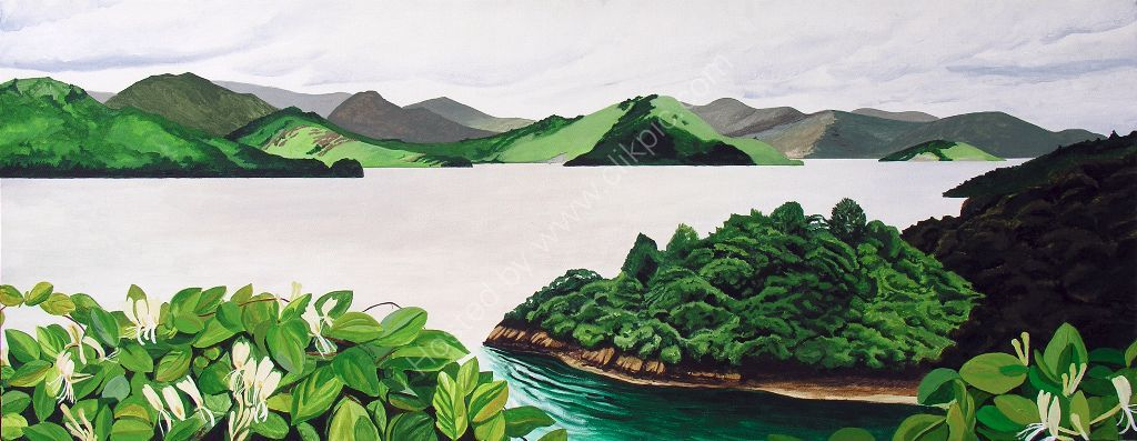 Mahurangi. Painting on canvas.