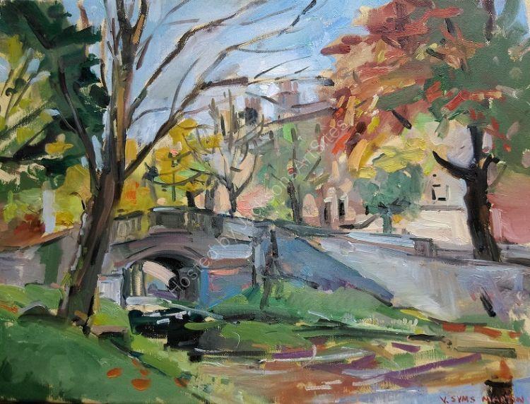 Late Autumn Canal, Dublin (Sold)