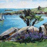 Across Dalkey Sound