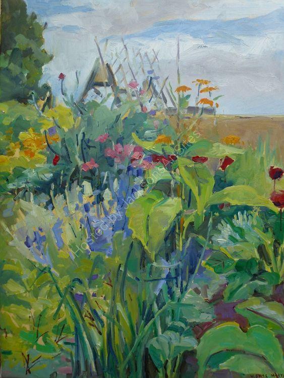 Summer Garden.  Sold