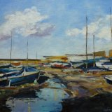 Boat Yard at the Coal Harbour, Dun Laoghaire