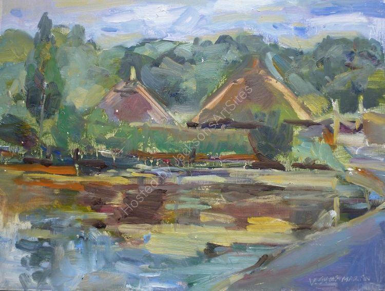 Crannog in Wexford Heritage Centre. (Sold)