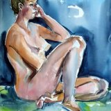 Seated Nude.