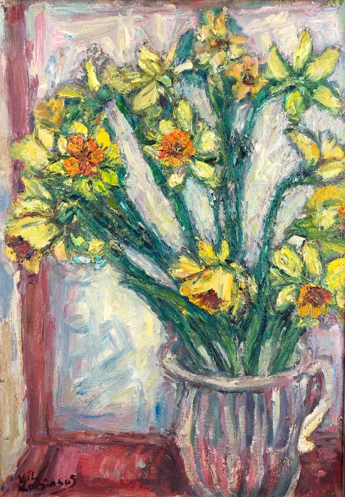Daffodils in a Jug 1. 36in x 24in