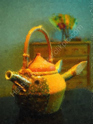 Teapot of a tender rounin 2