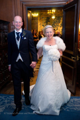 Wedding photography at Knowlton Court