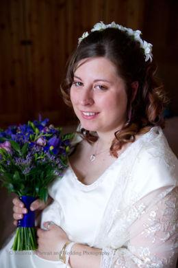 Wedding Charlton Church and Bluebirds  001