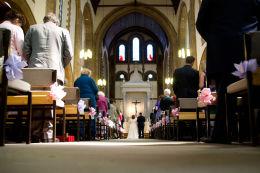 Wedding Charlton Church and Bluebirds  002