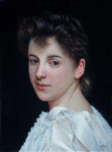 Copy of Portrait of Gabrielle Cot by Bouguereau