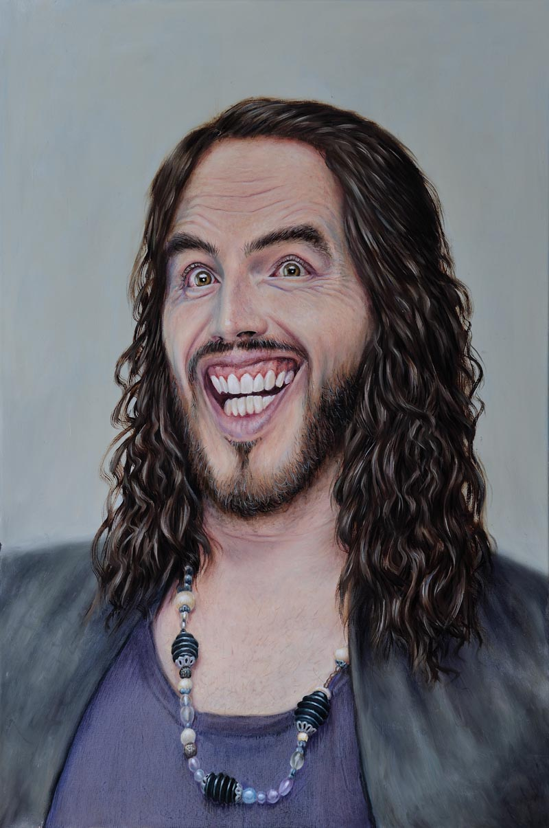 Russell Brand Caricature