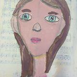 Expressive Self Portrait 6
