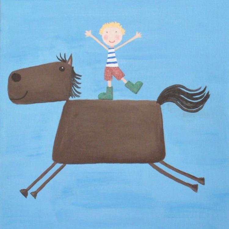 boy on horse