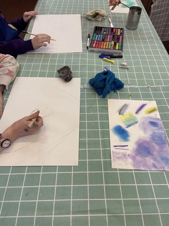 O'Keefe work in progress 2