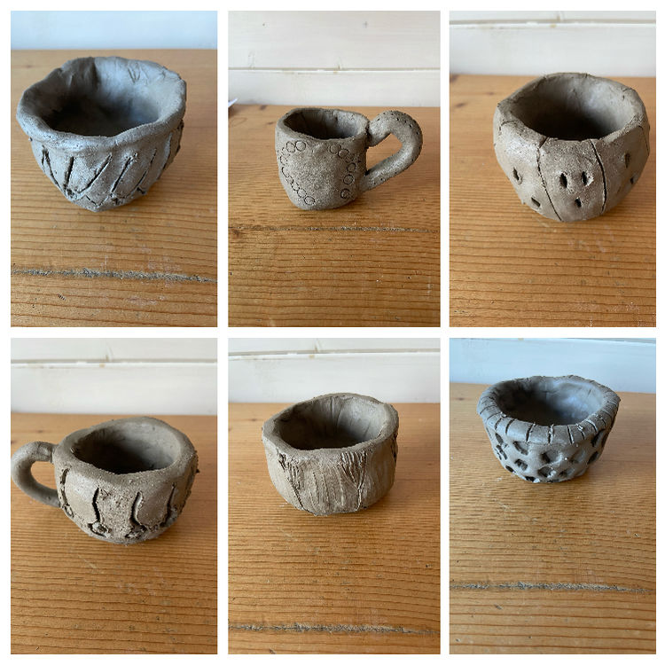 pinch pots 2
