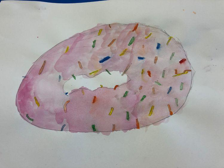doughnut still life
