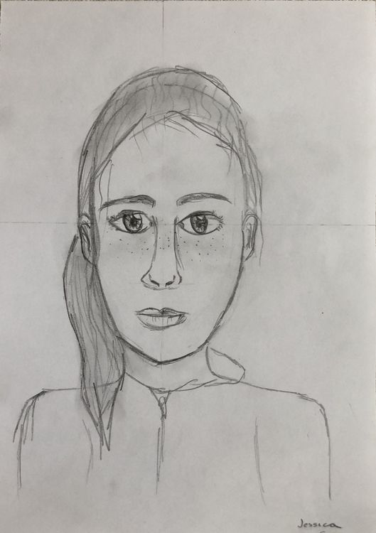 Portraits - facial proportions 2