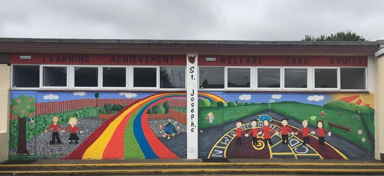 Mural, St Joseph's Primary, Linlithgow