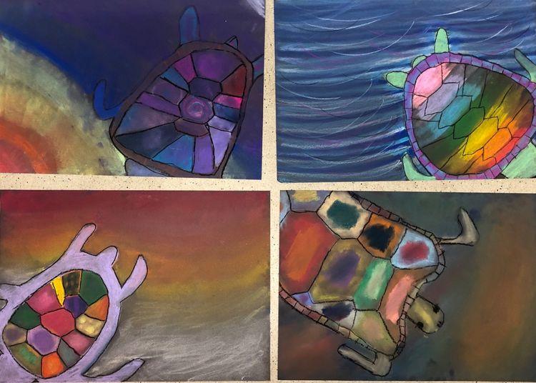 turtles ( art club)