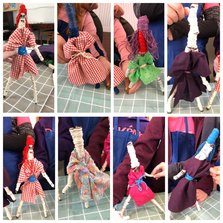 Worry doll collage 3