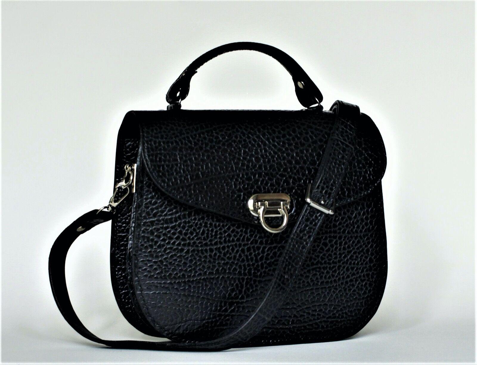 Black Suzi saddle bag