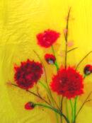 'Dahlia Sunset'  Original Art Work SOLD