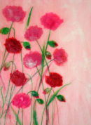 'In The Pinks' Original Art Work. SOLD