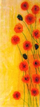 'Mellow Yellow'  Original Framed Art Work. SOLD
