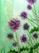 'Mid-Summer Thistles'  Original Art Work. SOLD