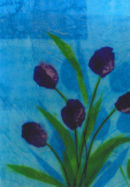 'Tulip Fanfare'  Original Art Work. SOLD