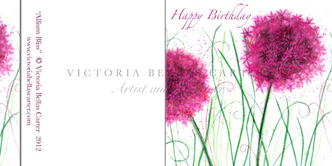 Happy Birthday 'Allium Bliss'