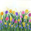 'A Spring Celebration,' Original tissue paper collage on canvas, £300.