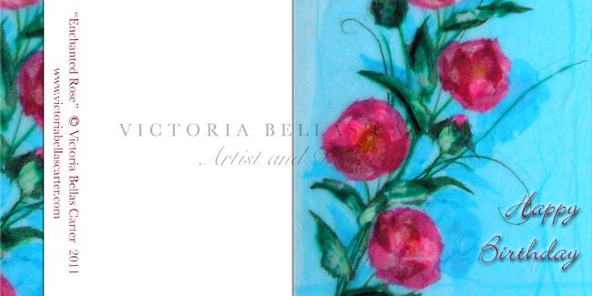 Happy Birthday 'Enchanted Rose'