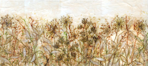 'Ever Sincere,' Original tissue paper collage on canvas. Unframed price - £400. Framed price - £480