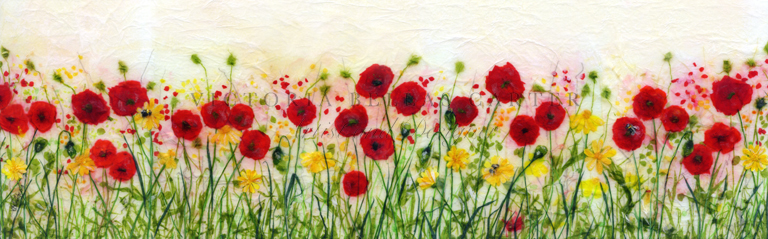 'Forever Summer,' Limited edition print, professionally mounted and framed, price £185