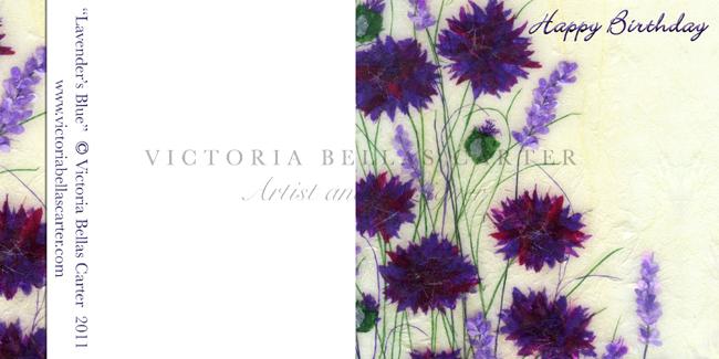 Happy Birthday 'Lavender's Blue'