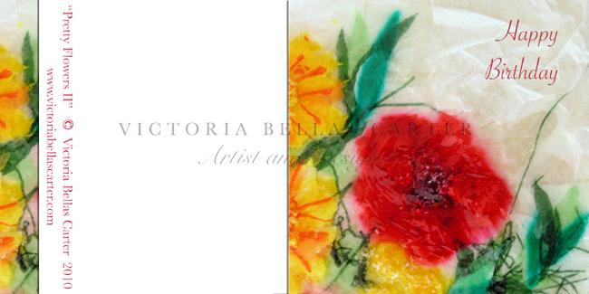 Happy Birthday 'Pretty Flowers II'